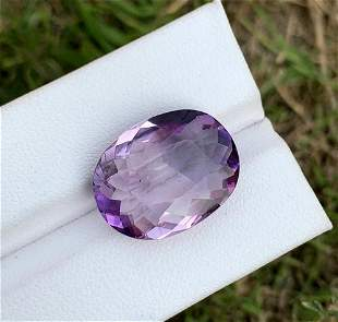10.65 Carat Natural Amethyst Gemstone