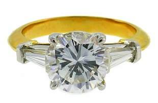 TIFFANY & Co 2.02-ct Diamond Yellow Gold RING