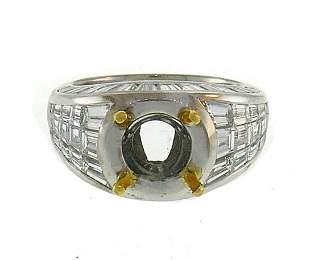 GRAFF Diamond White Gold RING MOUNTING SETTING