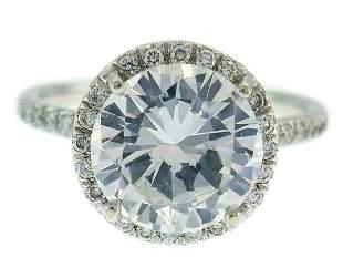 3.01-carat Diamond G SI1 GIA White Gold RING Engagment