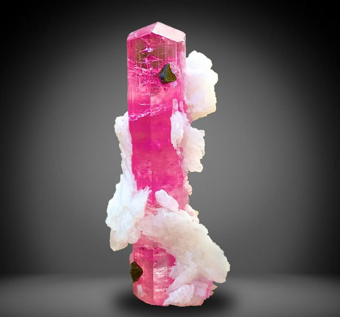 57 Carats Natural & Unheated Fully Terminated Deep Pink