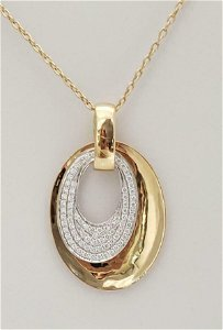 Afarin Collection .89ct Diamond 750 18k Gold