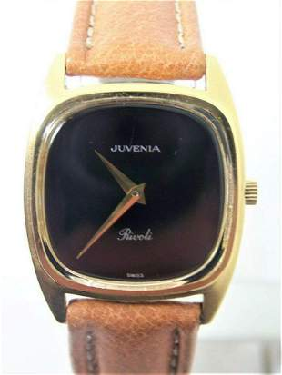 Vintage 18K Goldplated Unisex JUVENIA RIVOLI 17 Jewels