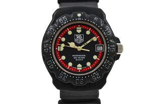 Vintage Tag Heuer F1 Series Quartz 383.513 Midsize