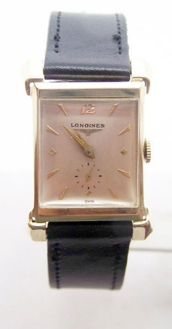 Vintage 14k LONGINES Winding Watch c.1940s Cal. 9LT*