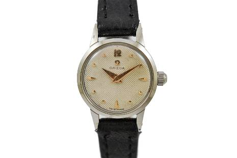 Vintage Omega Geneve Cal.244 Manual Wind Stainless