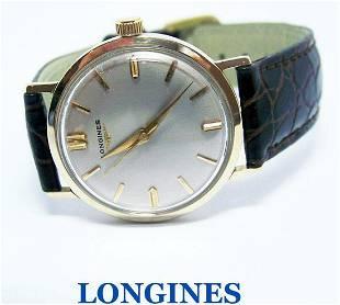 Vintage 14k LONGINES 17J Winding Watch c.1960's Cal 23