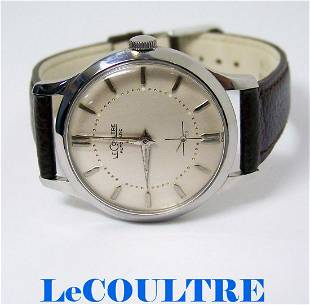 Vintage S/Steel LeCOULTRE Automatic Watch 1950s Cal