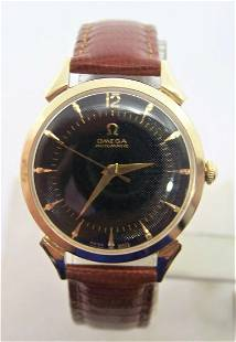 Vintage 14k OMEGA Automatic Watch 1960s Ref 6516-18