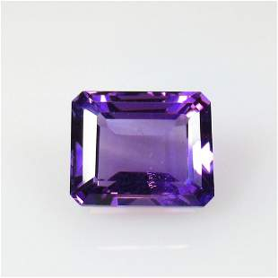6.00 Ct Natural Purple Amethyst Octagon Cut