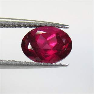 1.84 Ct Natural Pink Rhodolite Garnet Oval Cut