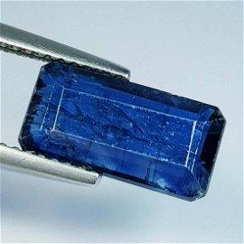 3.89 ct Natural Kyanite Octagon Cut