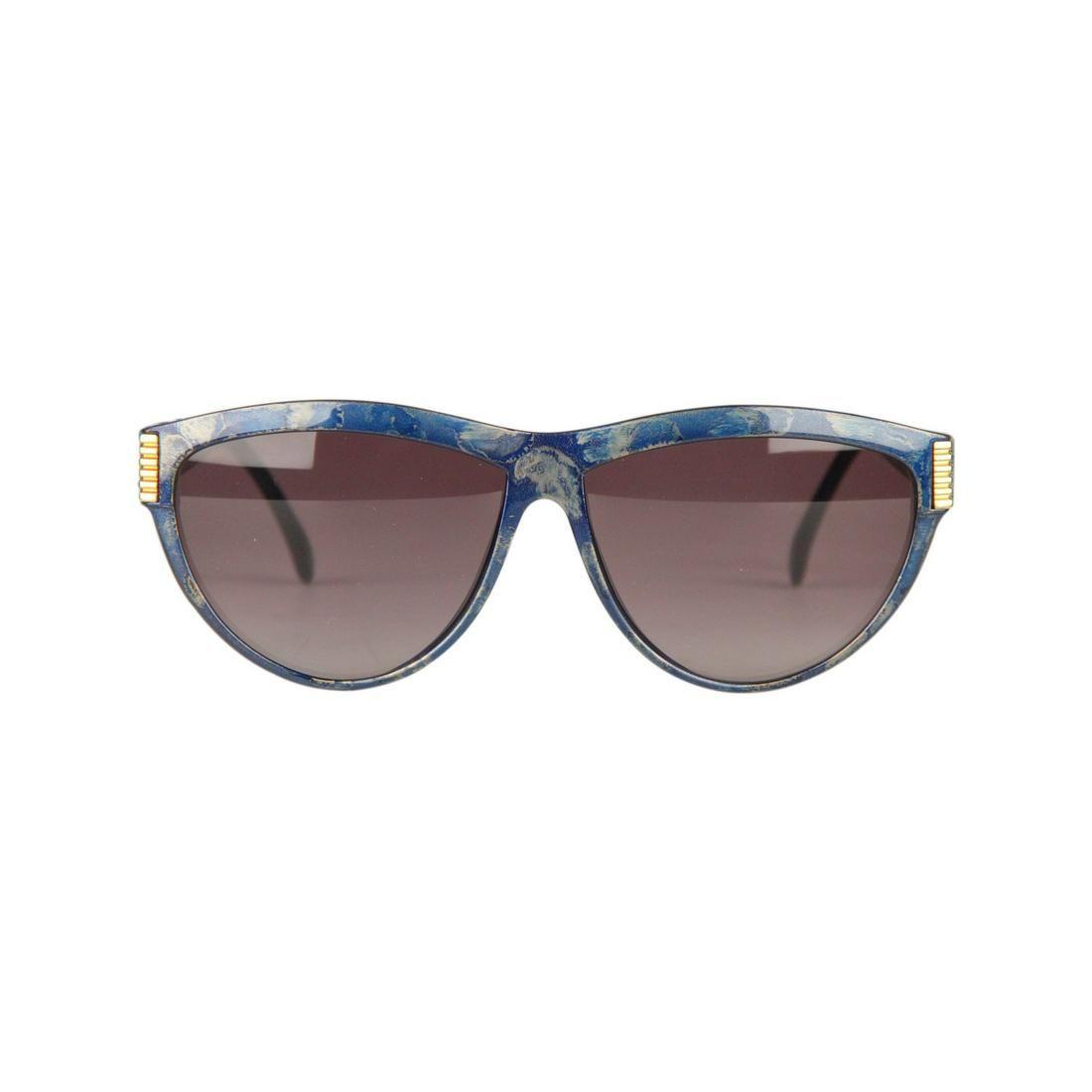 Yves Saint Laurent Vintage Blue Mint Sunglasses 9045