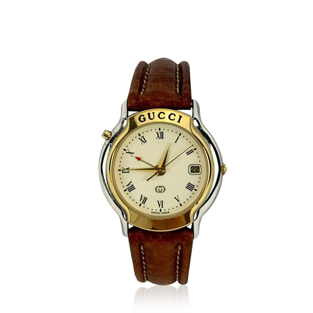 Gucci Vintage Stainless Steel Mondiale 8200 M Unisex