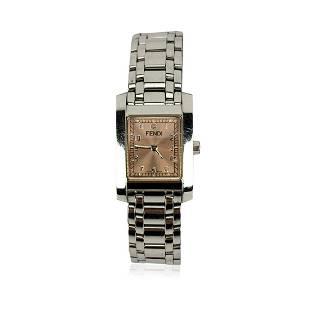 Fendi Stainless Steel 7000 L Women Wrist Watch