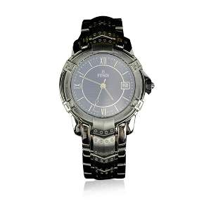 Fendi Stainless Steel 3500 G Unisex Wrist Watch Black