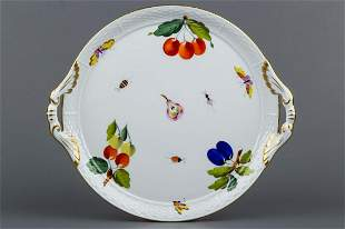 Herend Market Garden Cake Tray with Handles #315/FR