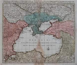 1792 Elwe Map of the Black Sea Region -- Nouvelle Carte