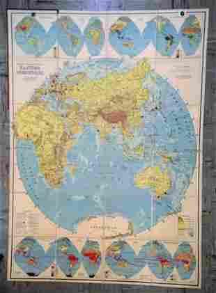 Ranally Physical-Political Eastern Hemisphere