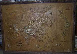 Relief Map of Asia