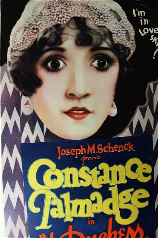 Duchess of Buffalo (First National Film, 1926) US