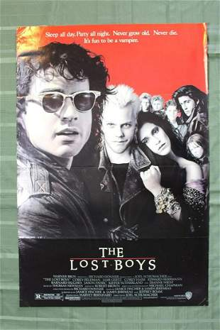 The Lost Boys (USA, 1987) US Movie Poster