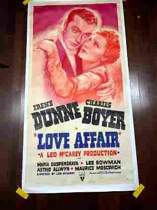 Love Affair - Dunne & Boyer (1944) US Three Sheet Movie