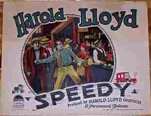 REDUCED 50%!! SPEEDY '28 LC HAROLD LLOYD'S FINAL