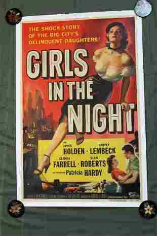 Girls In The Night (USA, 1953) One Sheet Movie Poster