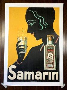 """Samarin Art Deco (1930's) 27"""" x 38.75"""" Swedish"""