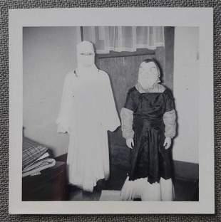 Unusual 1960's Halloween Snapshot