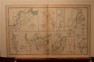 893 Civil War Map