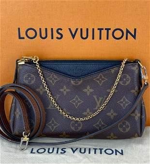 LOUIS VUITTON Pallas Clutch Monogram Noir M41639 Clutch