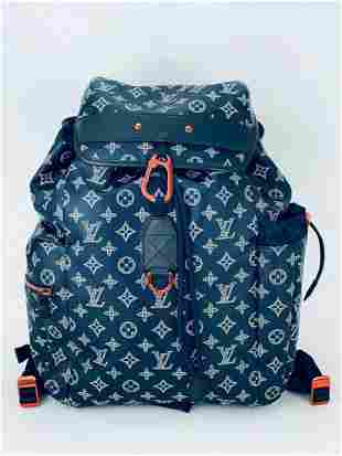 Louis Vuitton Discovery Monogram Upside Down Backpack