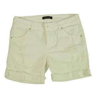Fifty Carat 50C Doriana Off White Cotton Summer Shorts