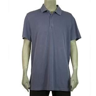Gap Sport Purple Short Sleeve Cotton Polo Mens Top size