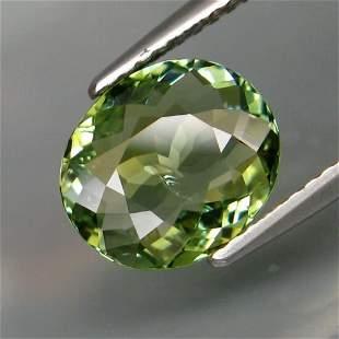 natural green tourmaline-2,10 ct 1,2