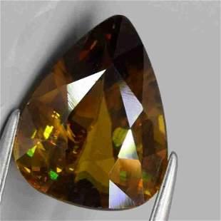 Natural Sphene (rainbow spark under sun light )-2,69 ct