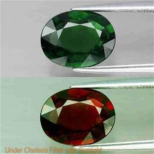 rare! natural green chrome tourmaline -2,32 ct 1,2,3