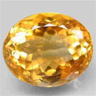 natural top golden yellow citrine-14,36 ct 1,2