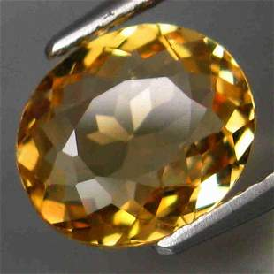 rare color! natural yellow tourmaline -2,06 ct 1,2