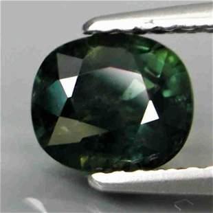 UNHEATED! natural blue green Sapphire -1,28 ct 1,2