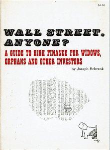Wall Street Anyone? - Schrank - 1965 -cartoons by JAF -