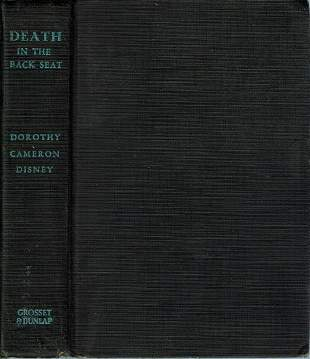 Death In The Back Seat - Disney - 1936 reprint First