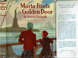 Marta Finds the Golden Door - Cavanah - 1941 - juvenile