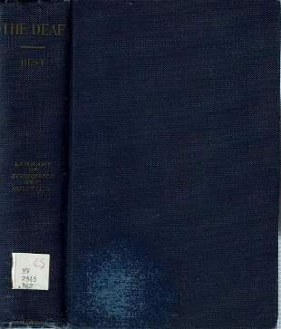 The Deaf - Best - 1914 - Deafness - Social Welfare -