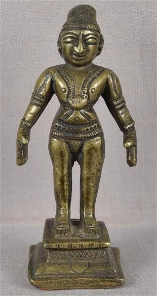 19c Indian bronze JAIN SAINT TIRTHANKARA