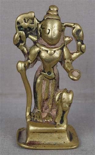 18c Indian bronze GOVINDA BHAIRAVA