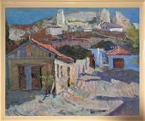 Oil painting Hot day. Crimea Sergeyeva Nina