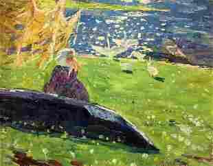 Oil painting Household Zvyagintsev Rostislav